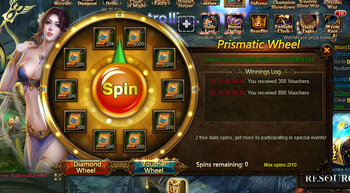 Prismatic Voucher Wheel