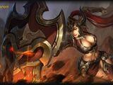 Flaming Warlord