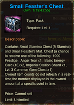 Small Feaster Chest