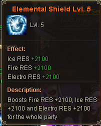 Elemental Shield Lv 5