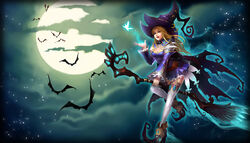 Blue Witch Artwork