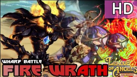 League of Angels - FIRE RAIDER - Extreme Wharf Battle Fire Wrath