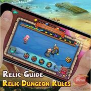 Relic dungeon rules