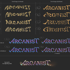 Arcanists 2020 Logo Concept (by Riot Contracted Artist <a href=