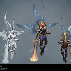 Battleborn Kayle Update Model 1 (by Riot Artists <a href=