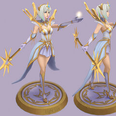 Elementalist Lux Model 3 (by Riot Artist <a href=