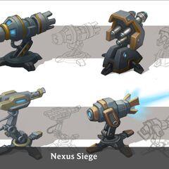 Nexus Siege Turret Concept 4 (by Riot Artist <a rel=