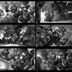 Festive Maokai Update Splash Concept 1 (by Riot Artist <a href=