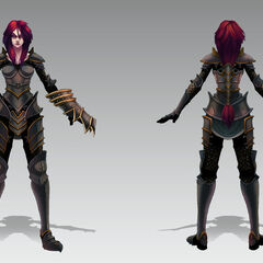 Ironscale Shyvana Concept (by Riot Artist <a href=