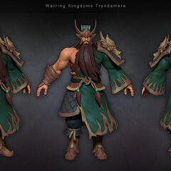 Warring Kingdoms Tryndamere Model (by Riot Artist <a class=