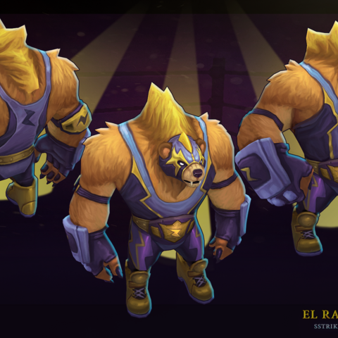 El Rayo Volibear Model (by Riot Artist <a href=
