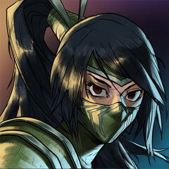 Akali Masquerade 2016 Promo (by Riot Contracted Artist <a class=