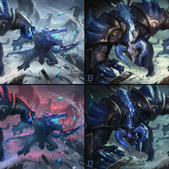 Blackfrost Alistar and Renekton Splash Concept 2 (by Riot Contracted Artist <a href=