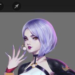 K/DA Evelynn Concept 4 (by Riot Artist <a href=