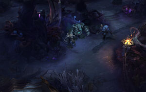 Floresta de Twisted Treeline
