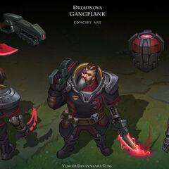 Dreadnova Gangplank Concept (by Riot Artist <a href=