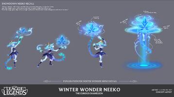 Neeko Winterwunder- Konzept 4