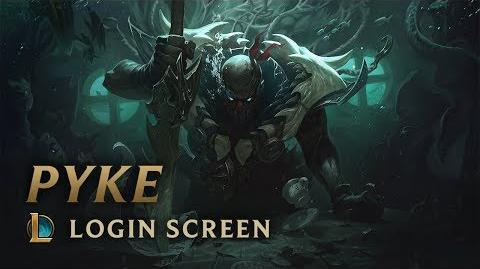 Pyke, the Bloodharbor Ripper - Login Screen
