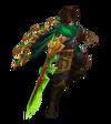 Talon Drachenklingen-Talon (Smaragd) M