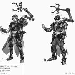 Prototype Viktor Concept (by Riot Artist <a href=