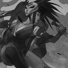 Blood Moon Akali Splash Update Concept 2 (by Riot Artist <a rel=