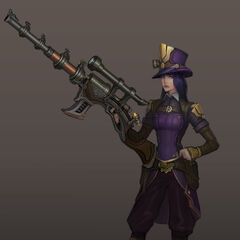 Caitlyn Update Concept 2 (by Riot Artist <a href=