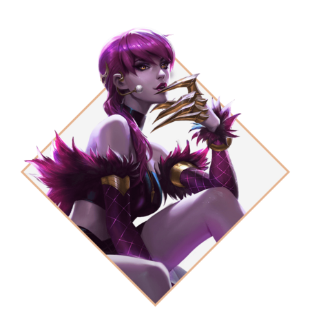 Evelynn KDA renderizado