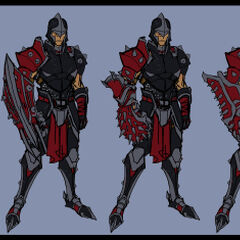 Noxus Assassin Concept 2 (by Riot Artist <a rel=