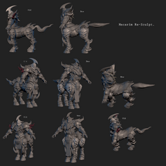 Hecarim Model 2 (by Riot Artist <a href=