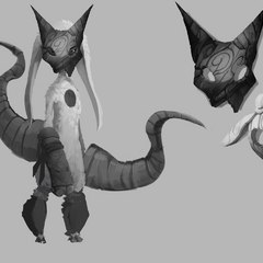 Kindred Lamb Concept (by Riot Artist <a href=