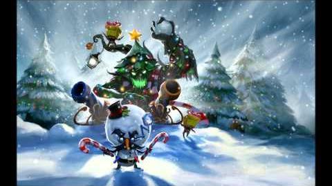 League Of Legends- 2011 Snowdown Showdown Login Music + Animations HD