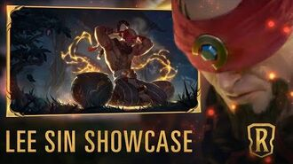 Lee Sin Champion Showcase Gameplay - Legends of Runeterra