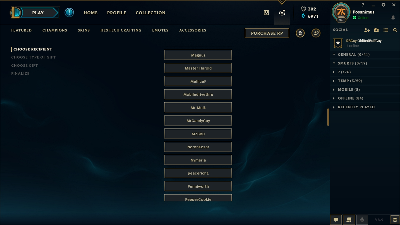 Gifting Center | League of Legends Wiki | FANDOM powered by
