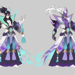 Spirit Blossom Thresh Concept 2 (by Riot Artist <a href=