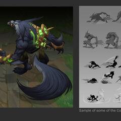 Warwick Update Concept 2 (by Riot Artist <a href=