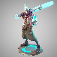 Ekko Statue Model 1 (by Riot Artists <a href=