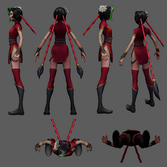 Firecracker Jinx Model 2 (by Riot Artist <a href=