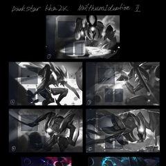 Dark Star Kha'Zix Splash Concept 1 (by Riot Artist <a href=