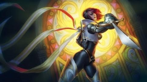 League of Legends - Focus Artistique Fiora