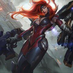 Gun Goddess Miss Fortune