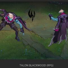 Talon Blackwood Concept 4 (by Riot Artist <a href=