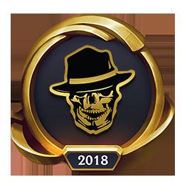 Worlds 2018 Royal Bandits (Gold) Emote