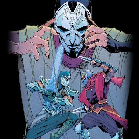 Jhin, Shen, and Zed