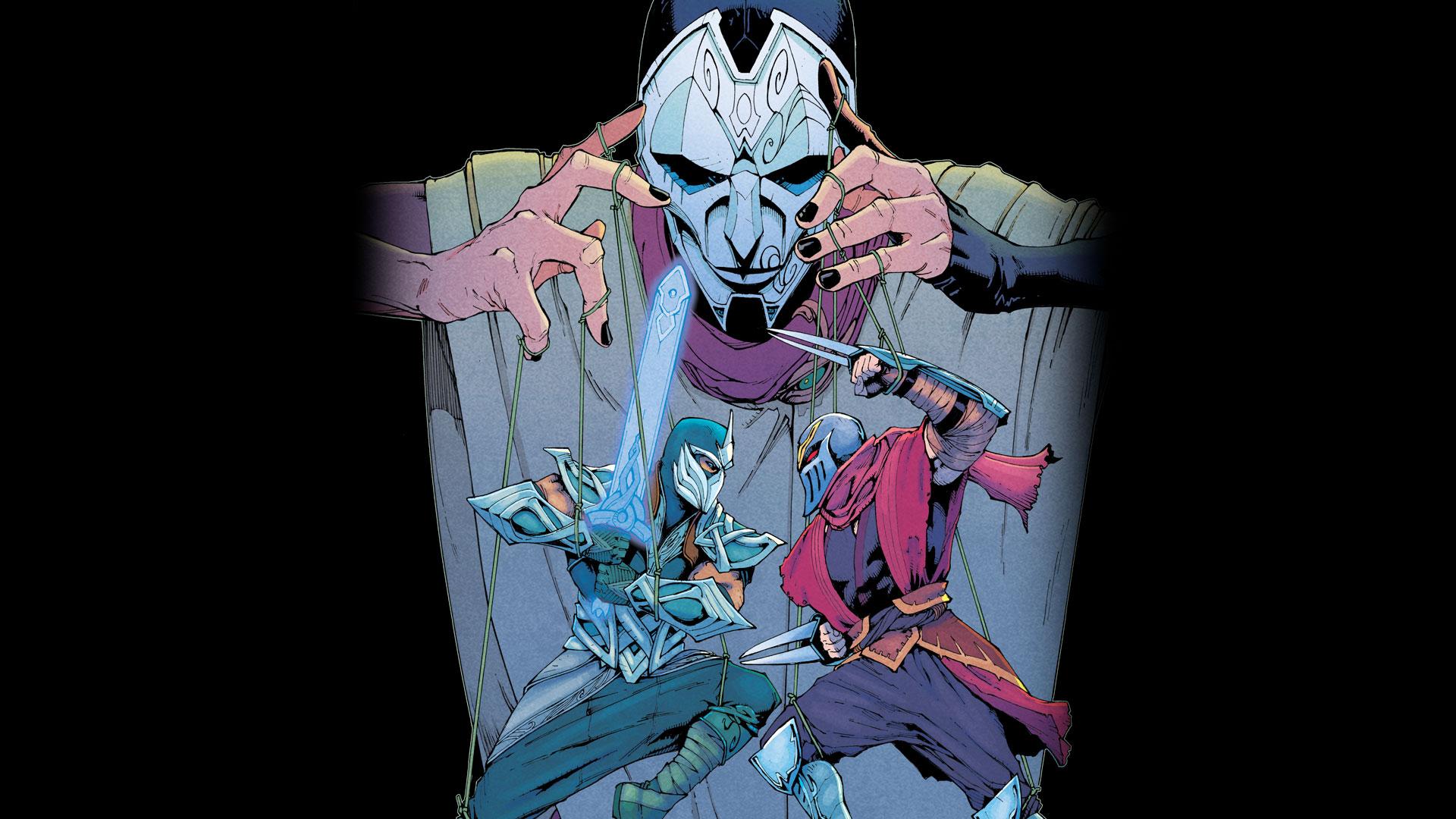 Zed Comic 3 Cover 2