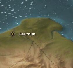 Bel'zhun map