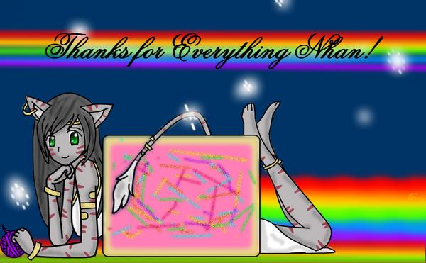 Nhan-Fiction Nhan cat doodlee
