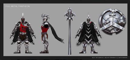 Pantheon Fullmetal- Konzept