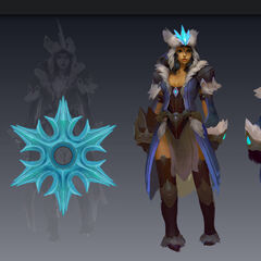 Snowstorn Sivir Concept (by Riot Artist <a href=
