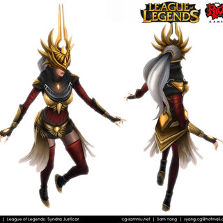 Justicar Syndra Model (by Riot Artist <a href=