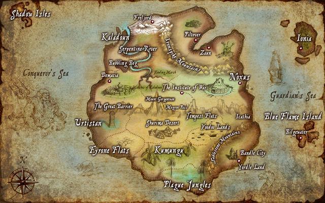 Bản đồ Valoran